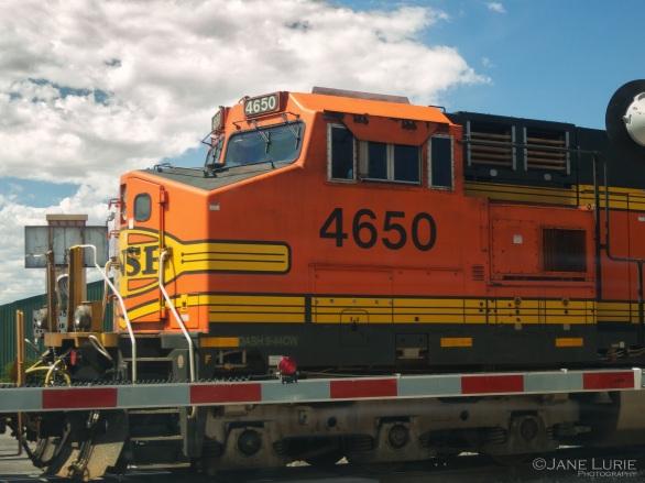Freight Engine, Train, Railroad