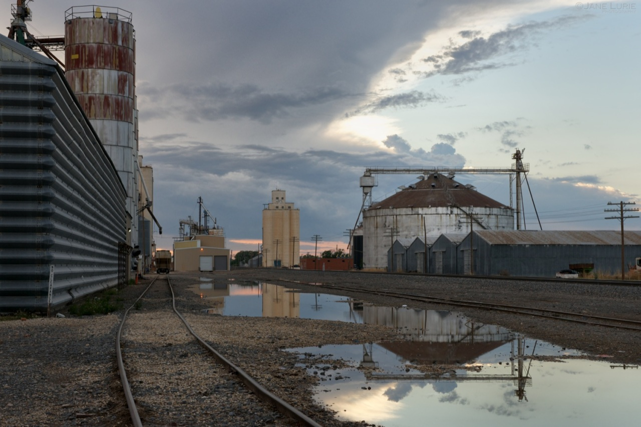 Architecture, Landscape, Agriculture, Grain Elevator, Silo