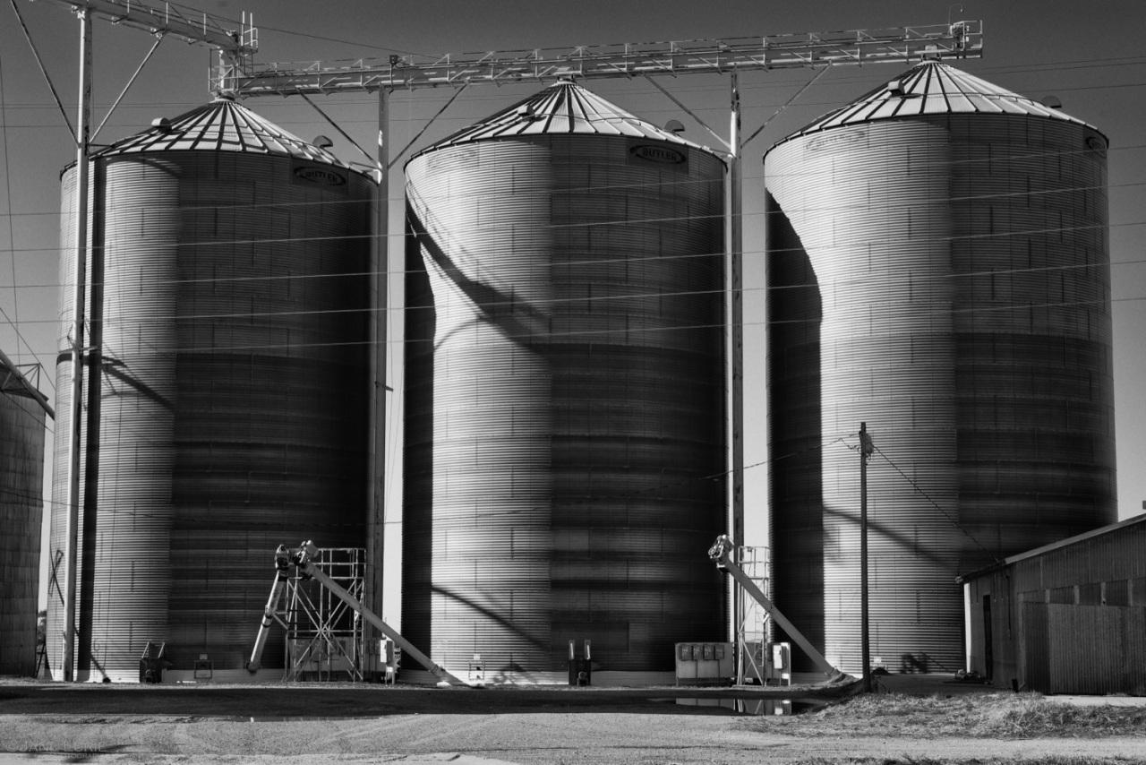Silo, Architecture, Agriculture, Building