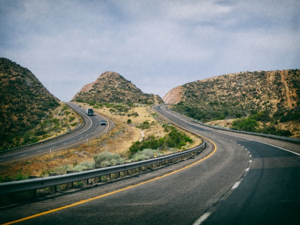 Highway, Landscape, Travel, Texas