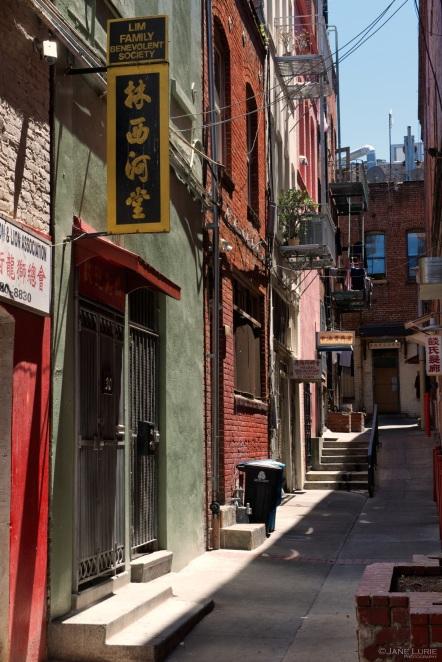 Chinatown, Alley, Architecture