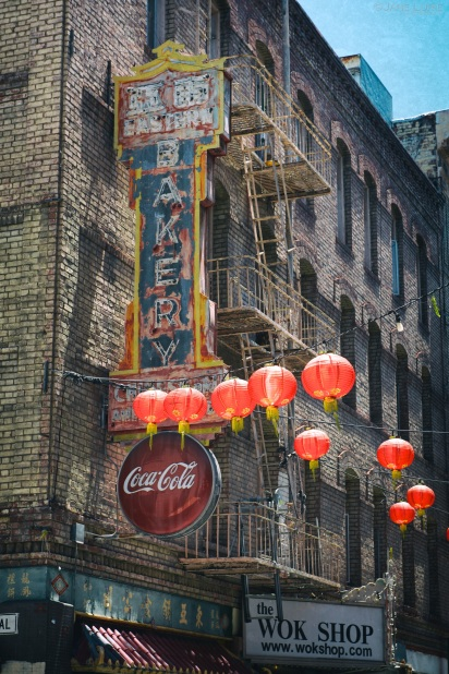 Signs, Architecture, San Francisco, Chinatown