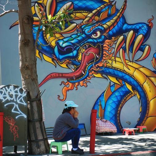 Graffiti, San Francisco, Chinatown
