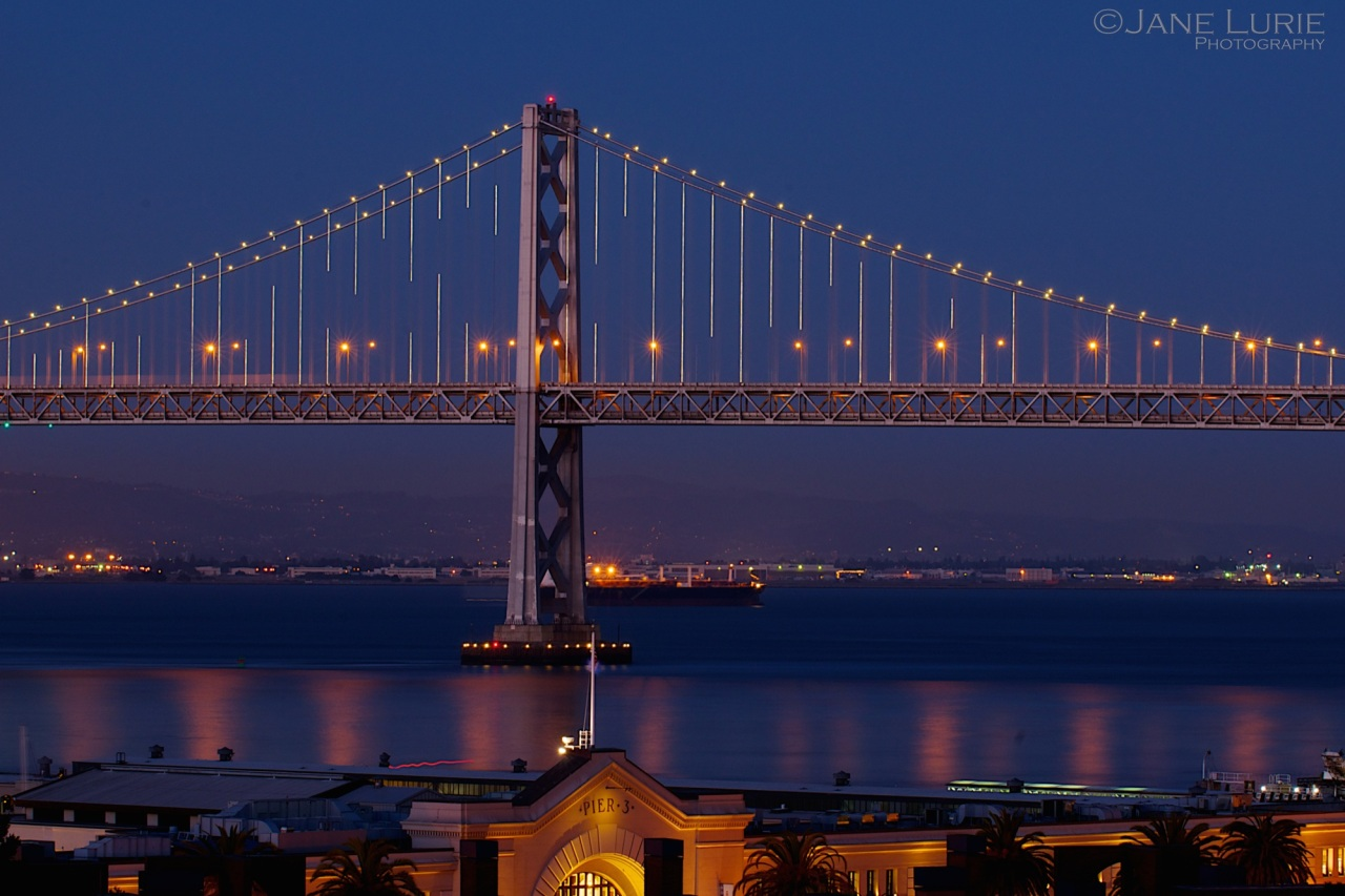 Bay Bridge, San Francisco, Night
