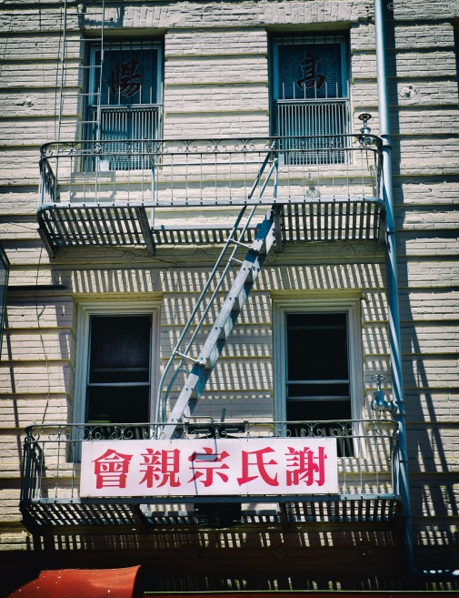 Fire Escape, Chinatown, San Francisco