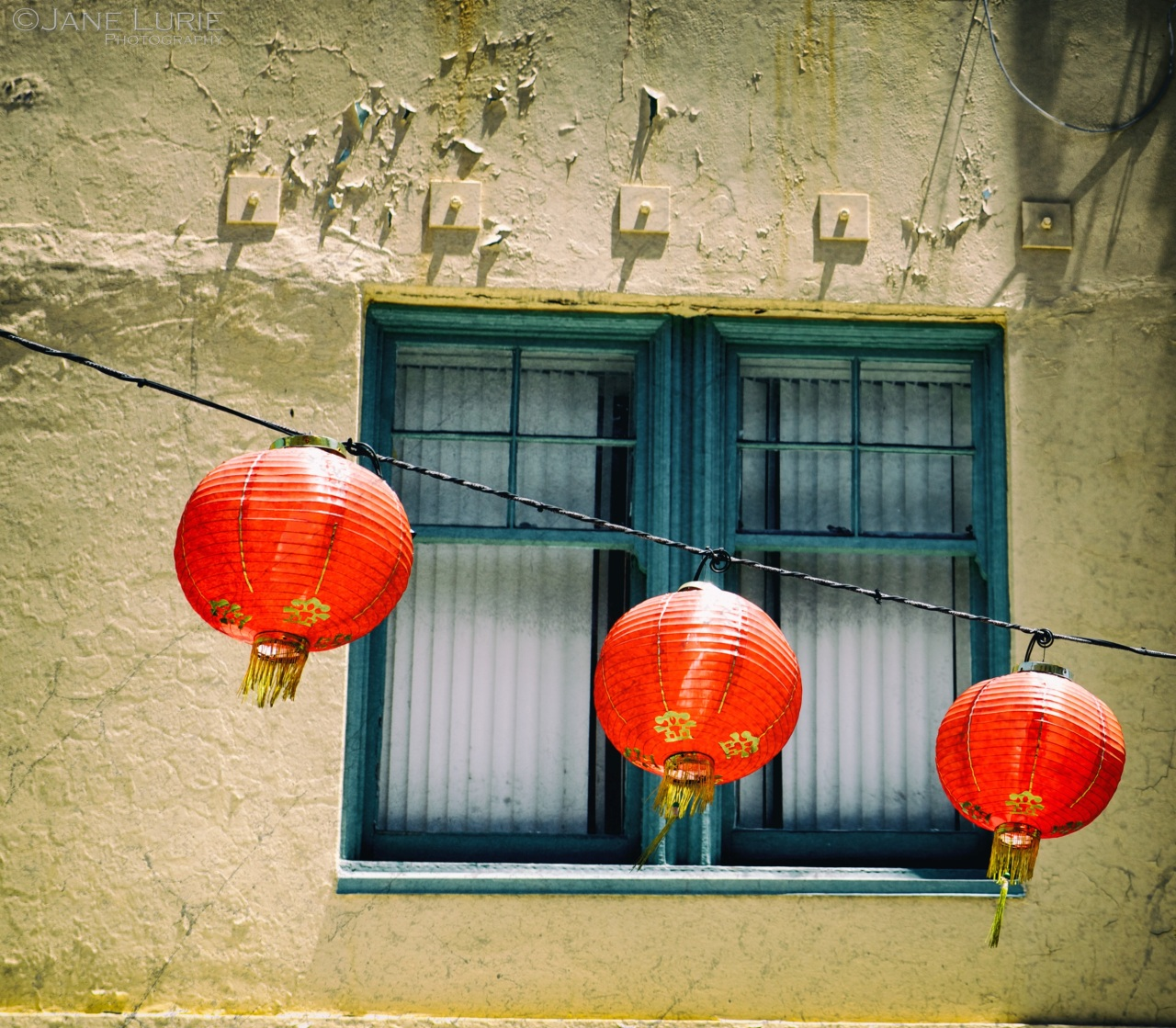 Window, San Francisco, Chinese, Lanterns