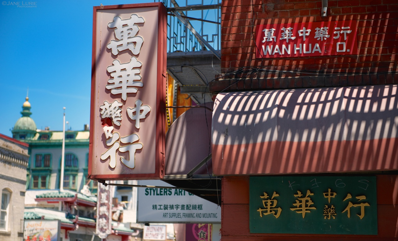 San Francisco, Chinatown, Urban, Architecture