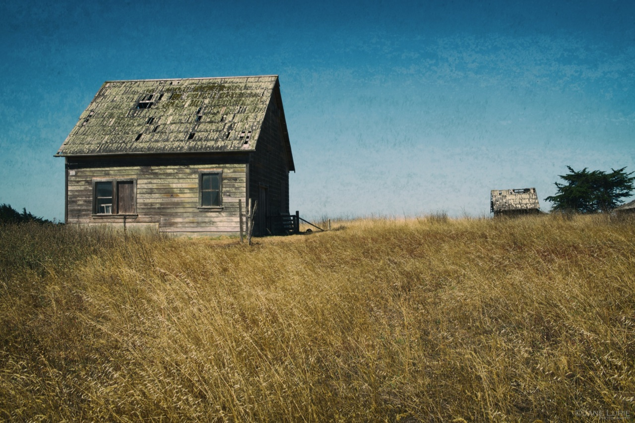 Barns, Mendocino, California, Landscape