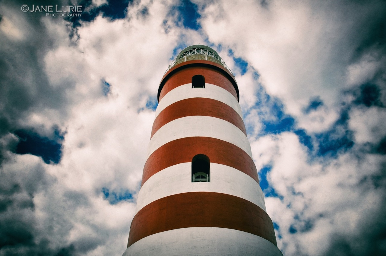 Lighthouse, Color, Clouds