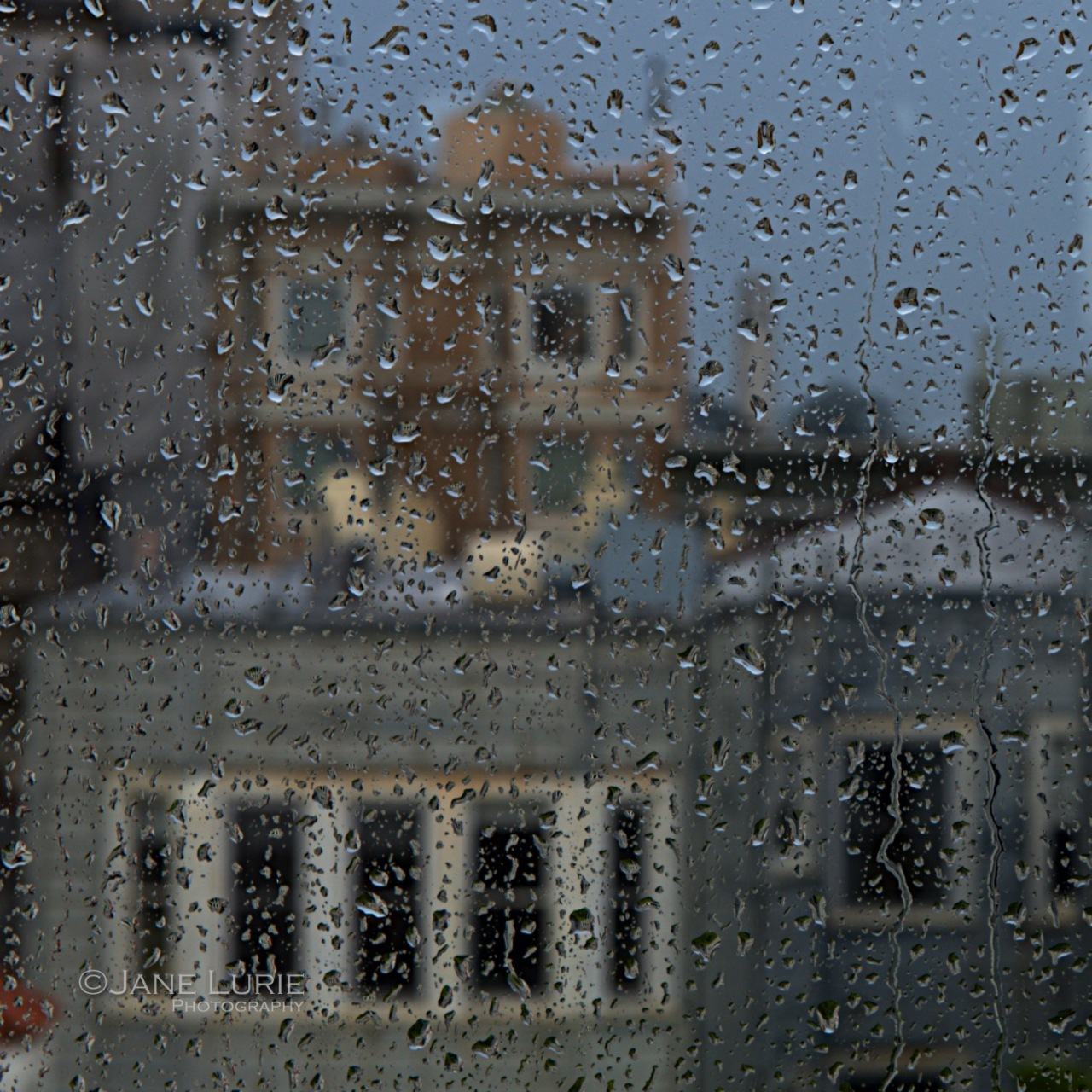 San Francisco, Rain, City, Urban, Coit Tower