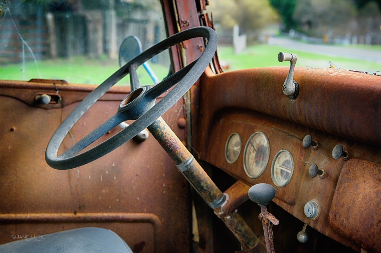 Antique, Truck,