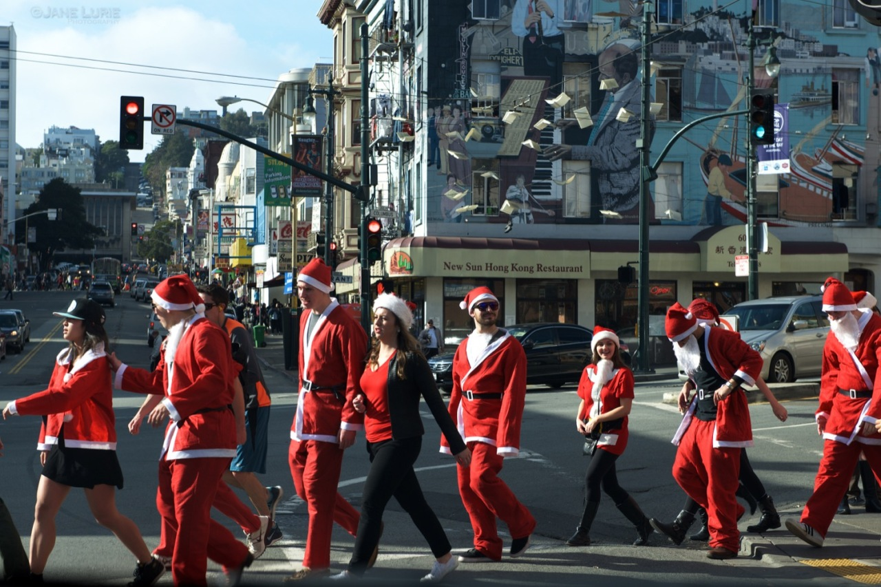 Santacon, San Francisco