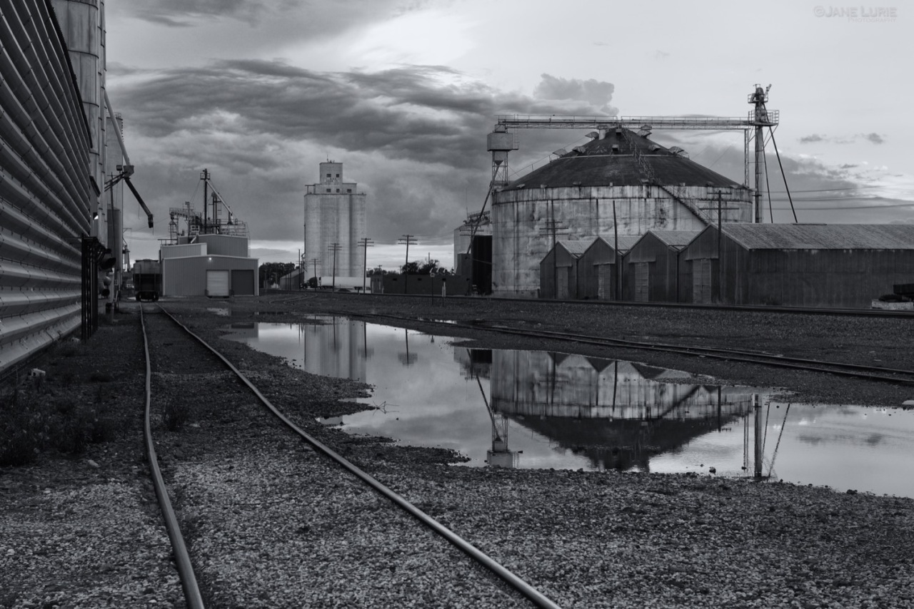 Black and White, Landscape, Architecture, Industrial