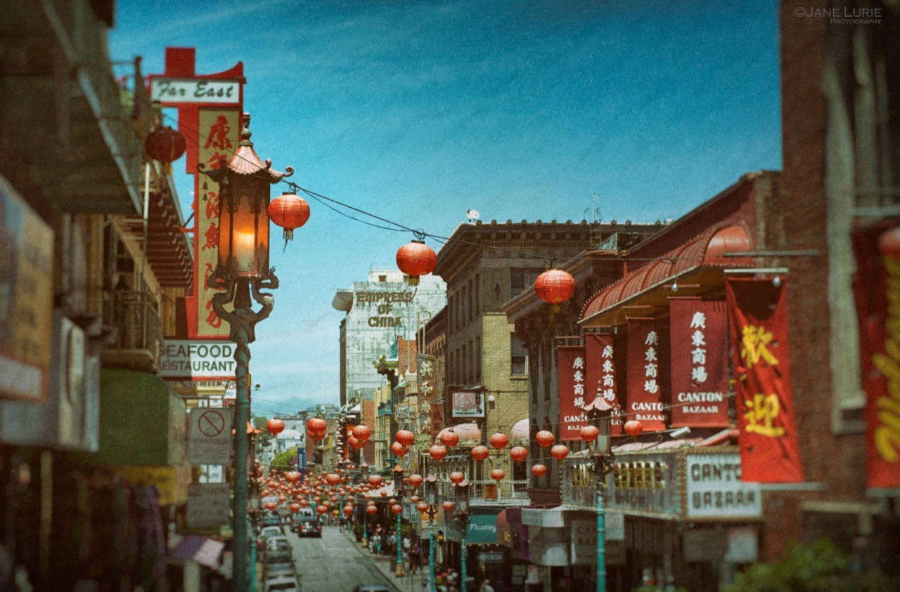 Chinatown, San Francisco, Architecture