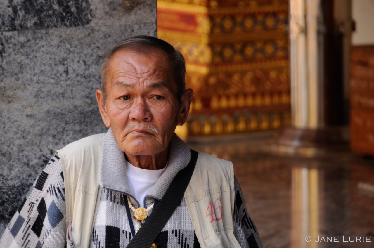 Thailand, Portrait, Man, Nikon