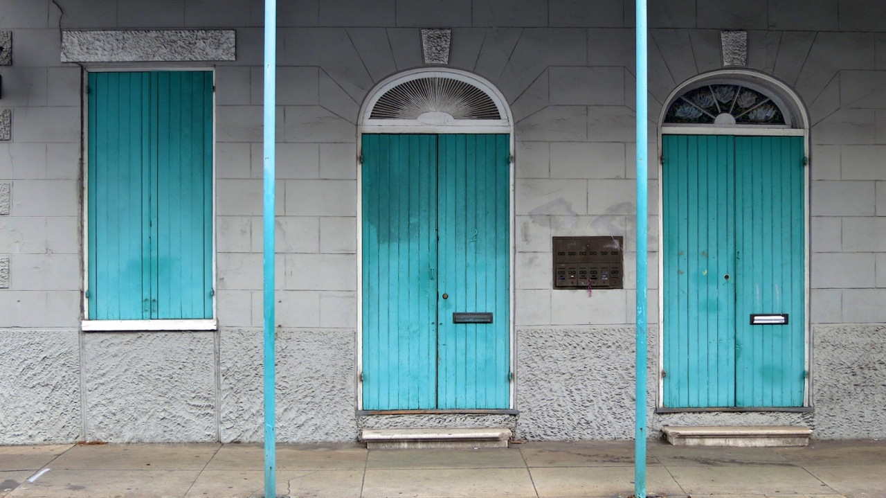 Doors, Architecture, New Orleans
