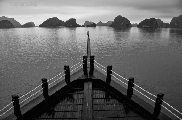 Black and White, Vietnam, Landscape, Nikon