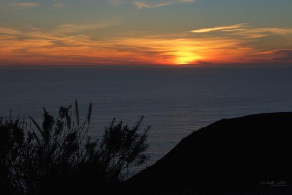 Sunset, Silhouette, Landscape, Nikon,