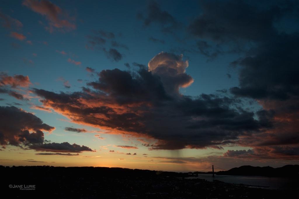 Sunset, San Francisco, Landscape