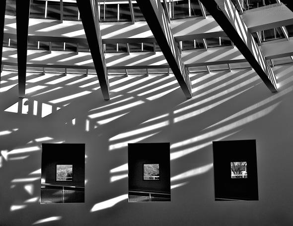 Monochrome, Architecture, Black and White, Shadows
