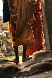 Cambodia, Portrait, Orange