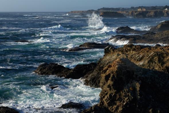 Landscape, Ocean, Nature, California
