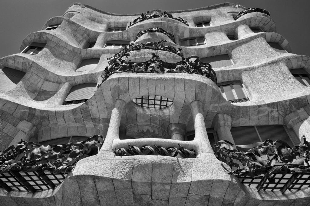 Architecture, Spain, City, Landscape, Nikon, Urban, Travell, Black and White, Monochrome