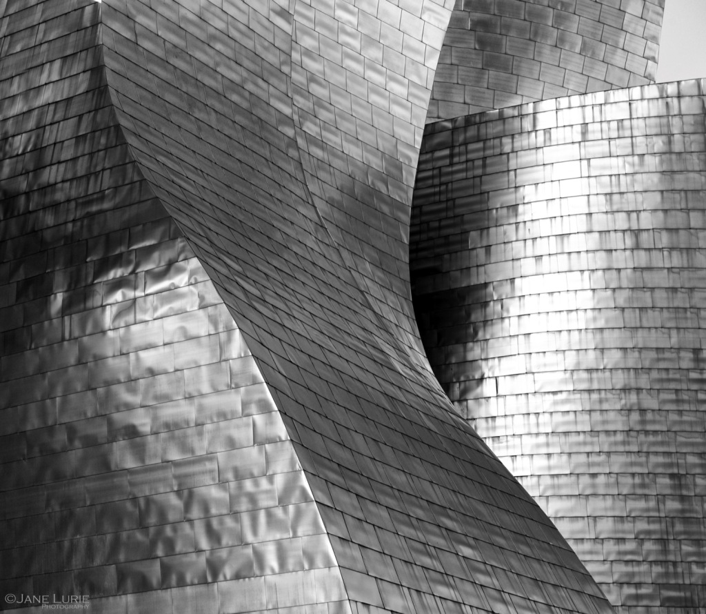 Bilbao, Spain, Museum, Architecture, Landscape, Nikon, Black and White, Monochrome