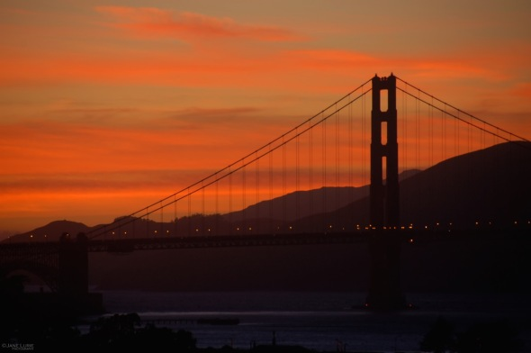 Landscape, San Francisco, Golden Gate Bridge, City, California,