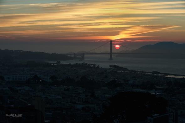 Landscape, California, Sunset, Nature