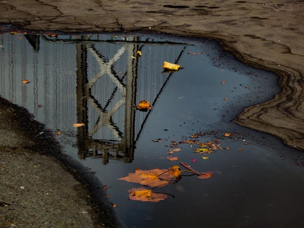 Reflection, City, Abstract, Nikon, Close-up