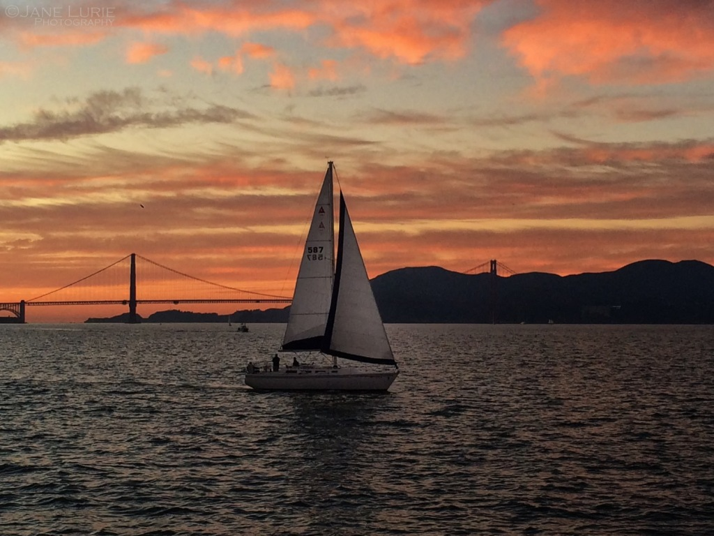 Landscape, Golden Gate, San Francisco, Photography