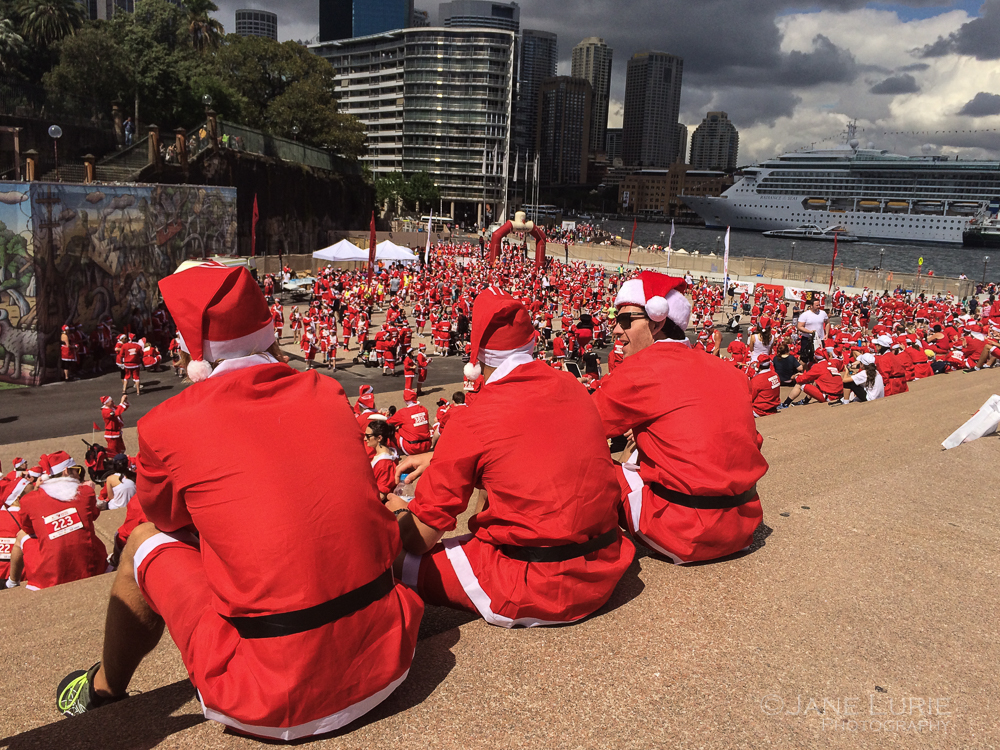 Christmas, Sydney, Australia, Holiday, Santa, Travel, Photography, Red,