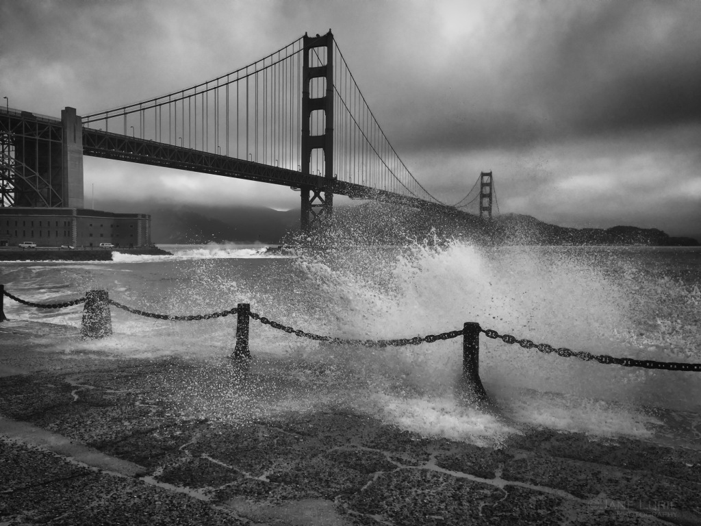 San Francisco, Golden Gate, Landscape, Nikon, Photography, Monochrome, Black and White