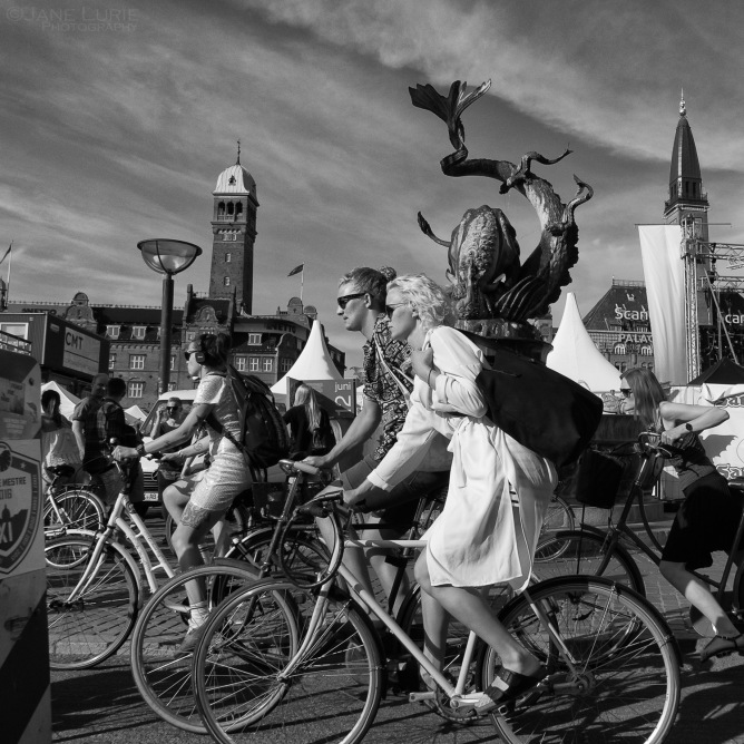 Copenhagen, Denmark, Bicycles, Travel, City, Culture, Europe, Portrait, People, Scandinavia,