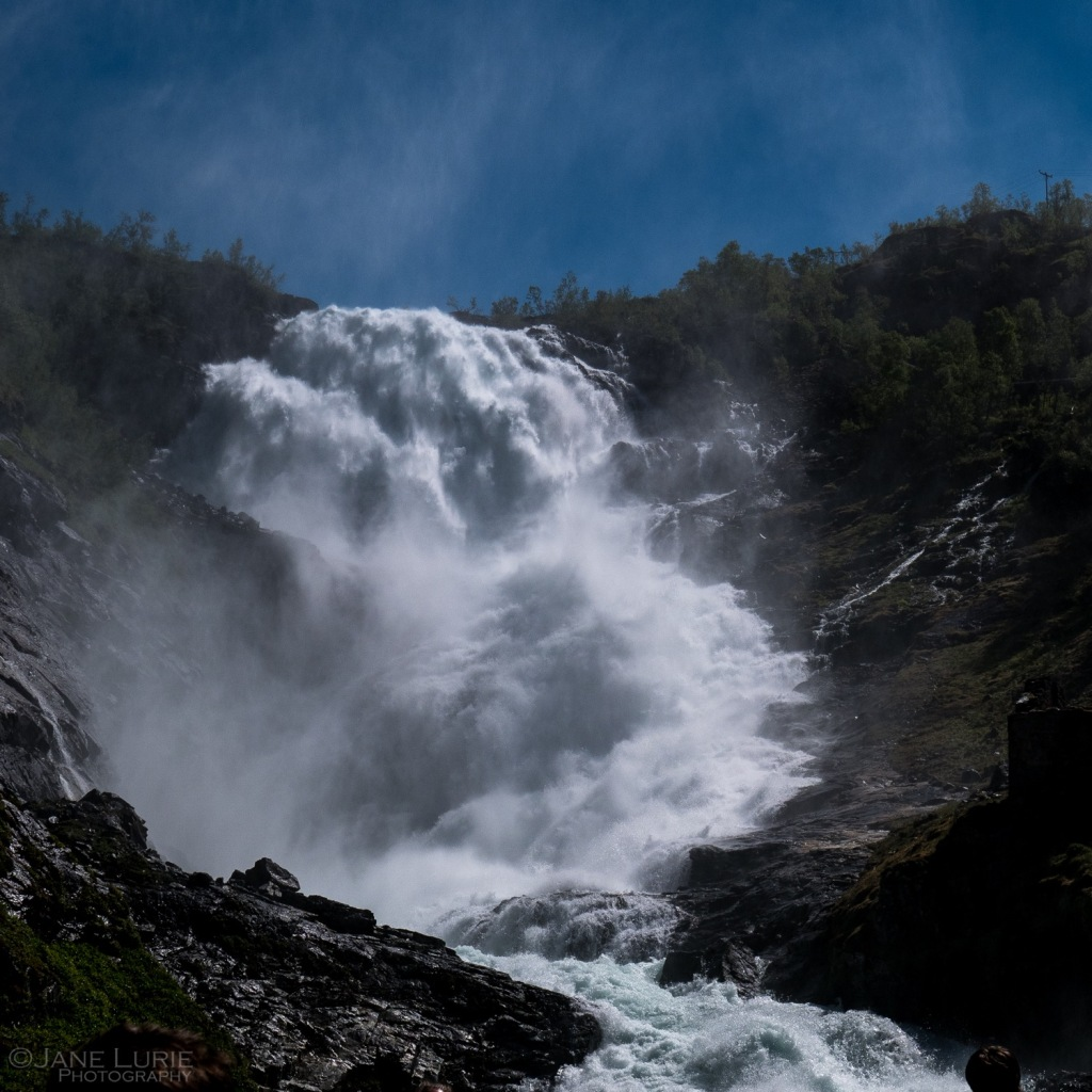 Nature, Norway, waterfall, Fjord, Landscape, Black and White, Nikon, Lumix,
