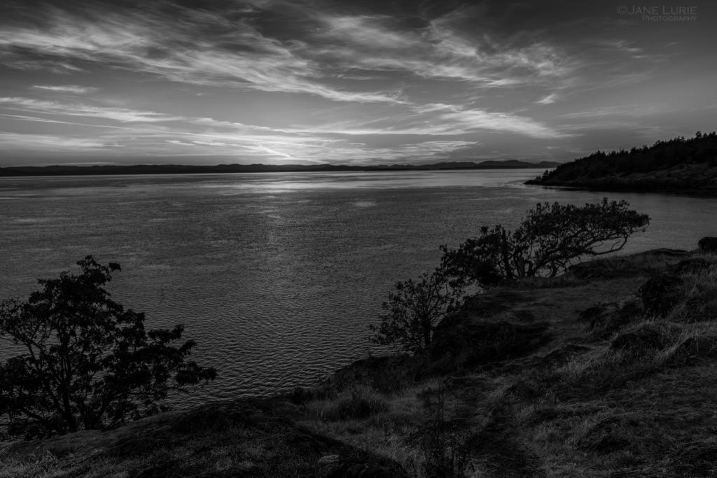 Landscape, Nature, Sunset, Nikon, Photography, Water, Monochrome
