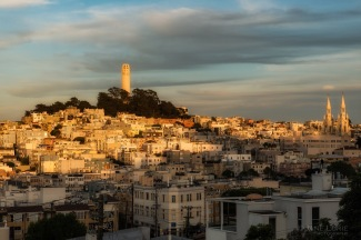 California, San Francisco, Landscape, City, Urban, Sunset