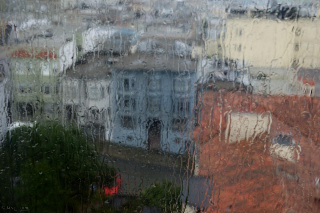 Rain, San Francisco, Abstract, Photography, City, California