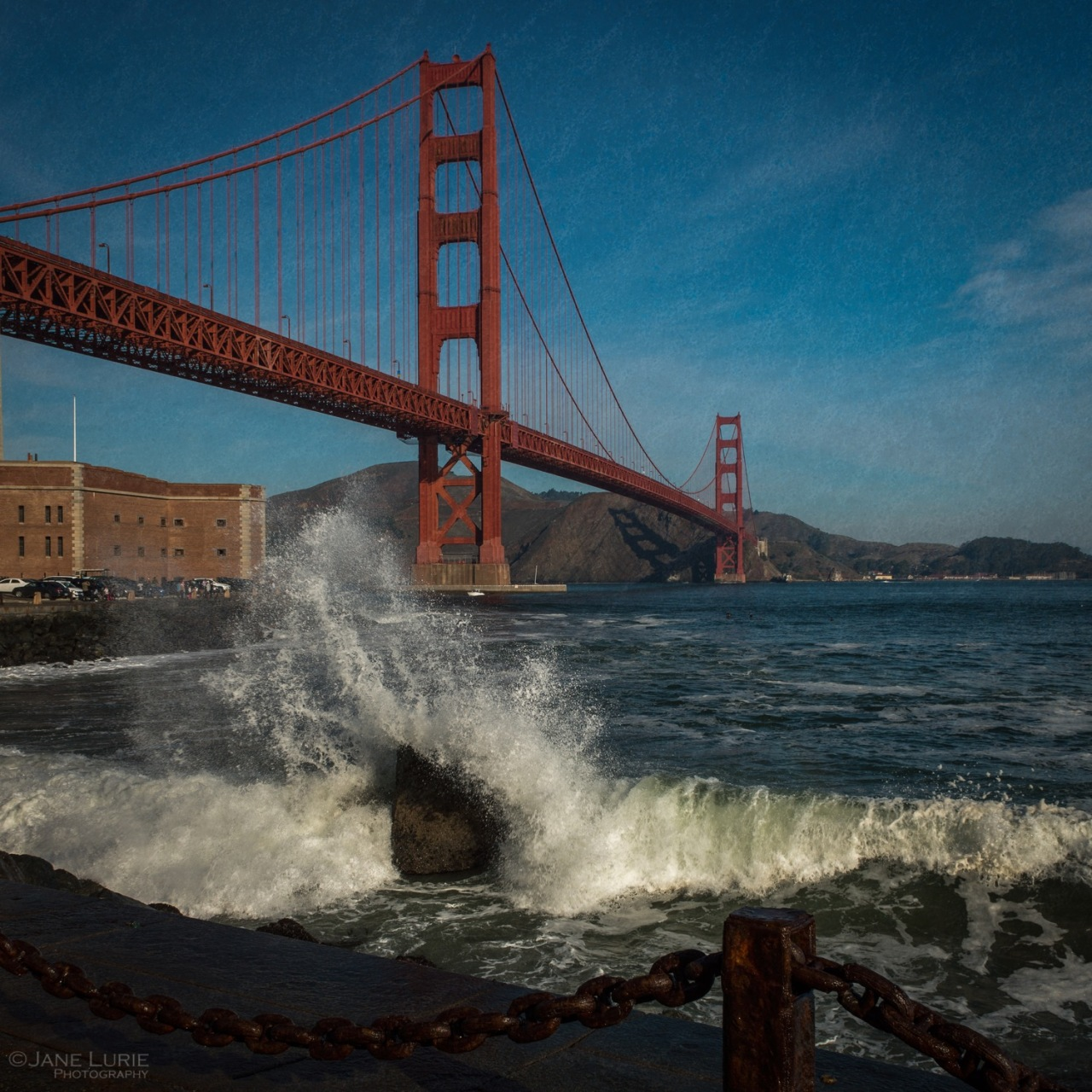 Landscape, Photography, San Francisco, California, City, Wave