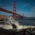 Landscape, Photography, San Francisco, California, City, Wave