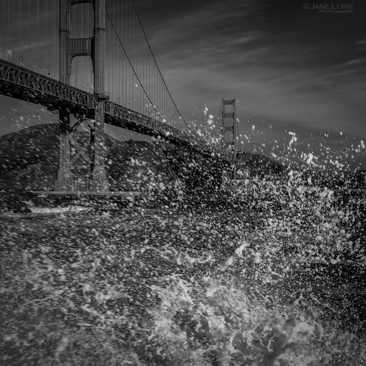 San Francisco, Golden Gate, Landscape, Monochrome, Action, Nature, Photography