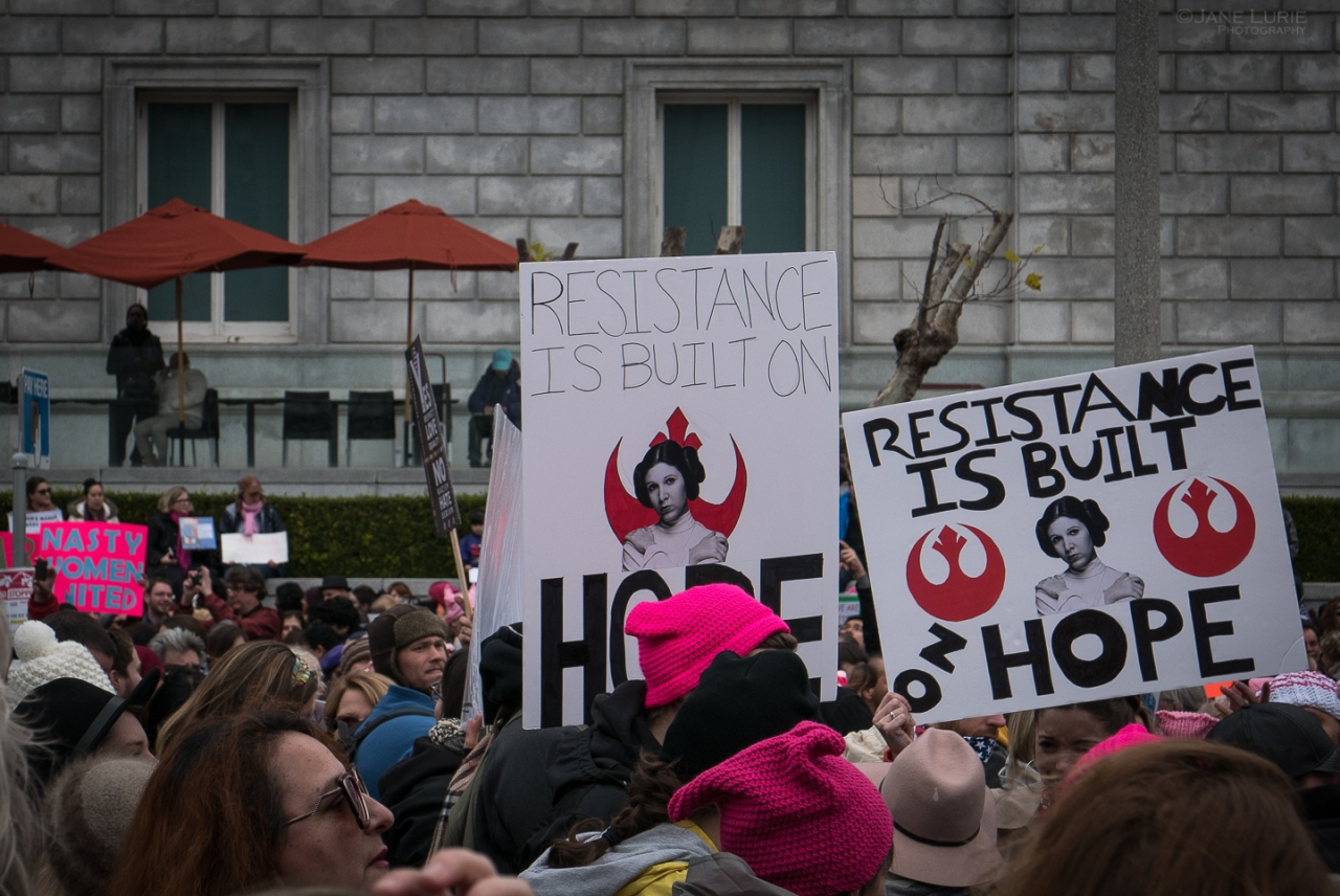 Protest, City, San Francisco, California, Election, Women, Gender