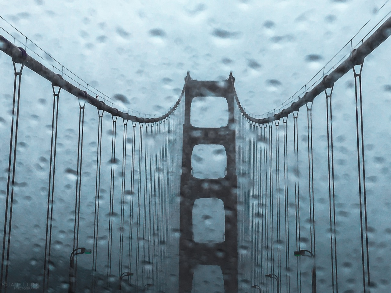 Golden Gate, San Francisco, Rain, Photography