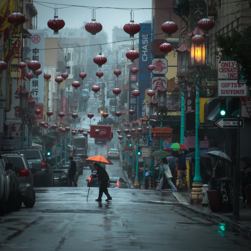 City, Landscape, Rain, San Francisco, Light