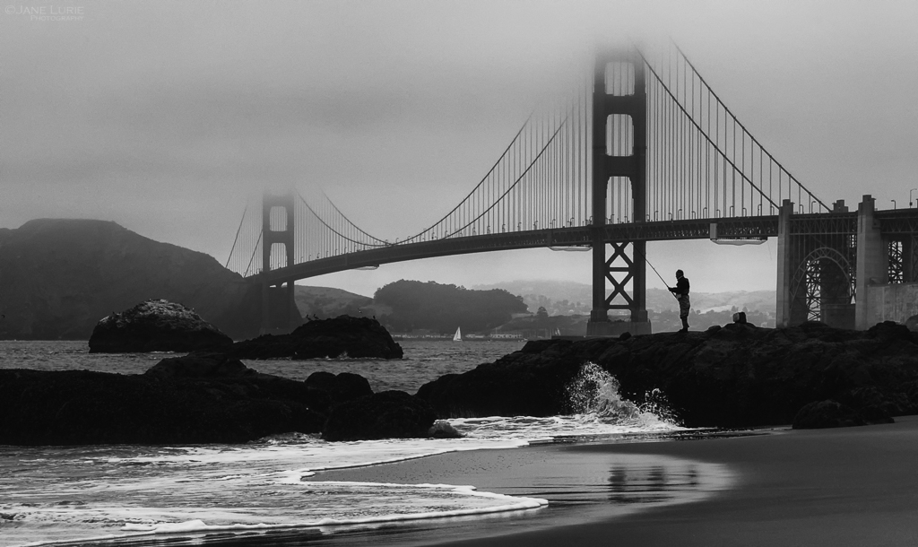 Guest Post – Jane Lurie – Morning Catch, Baker Beach