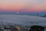 Nature, Nikon, Landscapes, City, California, Golden Gate Bridge, Fog, Photography
