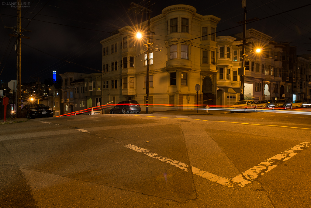 Night Photography, San Francisco, Urban, Light,