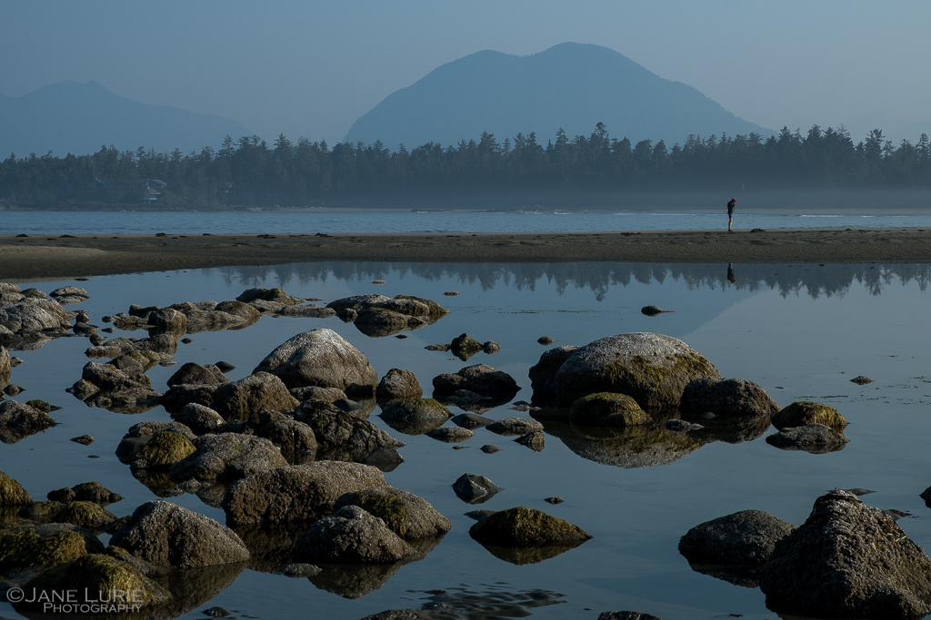 Beach Reflections, Tofino, BC