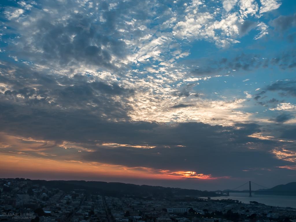 Nature, Sunset, Landscape, San Francisco, Golden Gate